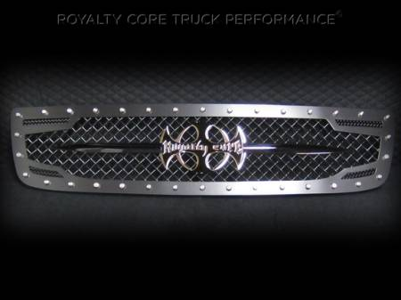Grilles - RC2 - Royalty Core - GMC Sierra 2500/3500 HD 2003-2006 RC2 Main Grille with 5.0 Super Mesh