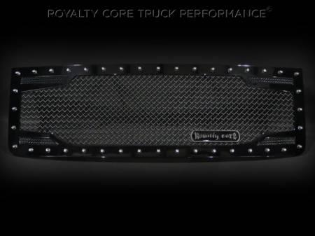 2500/3500 Denali - 2011-2014 - Royalty Core - GMC Sierra HD 2500/3500 2011-2014 RC2 Twin Mesh Grille