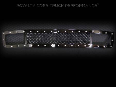 2500/3500 Denali - 2015-2016 - Royalty Core - GMC Denali HD 2500/3500 2015-2017 Lower Bumper Grille