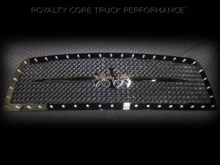 Royalty Core - Dodge Ram 1500 2009-2012 RC1 Main Grille with Black Sword Assembly - Image 3