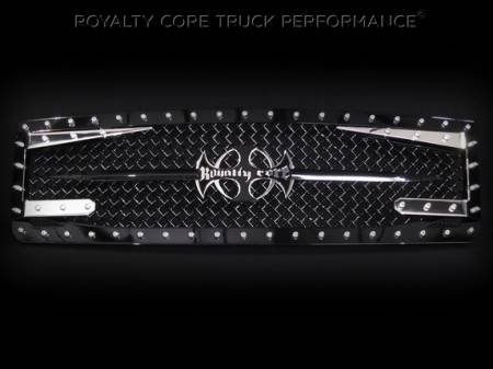 Grilles - RC3DX - Royalty Core - GMC Sierra HD 2500/3500 2007-2010 RC3DX Innovative Grille