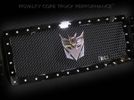 Emblems - Royalty Core - Decepticon Chrome