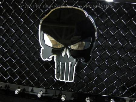 Emblems - Royalty Core - Punisher Skull 2-Tone