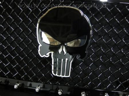 Emblems - Royalty Core - Punisher Skull 2-Tone