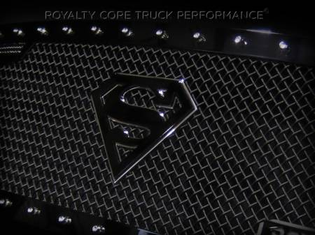 Emblems - Royalty Core - Superman Black/Chrome