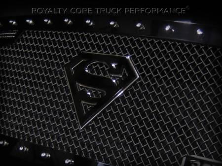Emblems - Royalty Core - Superman Black/Chrome