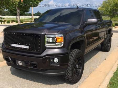 Royalty Core - GMC Sierra 1500, Denali, & All Terrain 2016-2018 RC1X Incredible LED Grille - Image 2