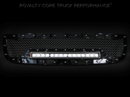 Royalty Core - GMC Sierra HD 2500/3500 2003-2006 RC1X Incredible LED Grille - Image 2