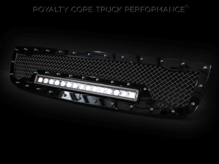 Royalty Core - GMC Sierra HD 2500/3500 2003-2006 RC1X Incredible LED Grille - Image 3