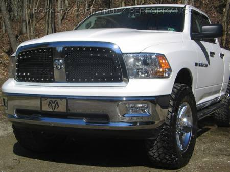 1500 - 2009-2012 - Royalty Core - Dodge Ram 1500 2009-2012 RC3DX Innovative Main Grille with Split Sword Assembly