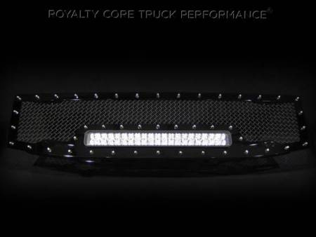Armada - 2008-2016 Armada Grilles - Royalty Core - Nissan Armada 2008-2016 Full Replacement RC1X Incredible LED Grille