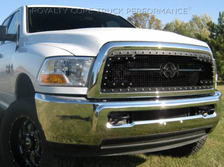 Grilles - RC3DX - Royalty Core - Dodge Ram 2500/3500 2013-2019 RC3DX Satin Black Main Grille