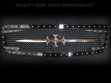 2500/3500 - 2005-2007 - Royalty Core - Chevy 2500/3500 2005-2007 Full Grille Replacement RC3DX Innovative
