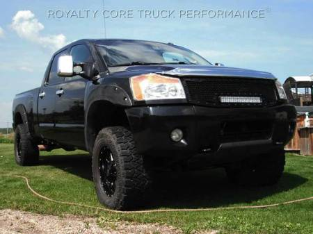 Royalty Core - Nissan Titan 2004-2015 Full Replacement RC1X Incredible LED Grille - Image 3