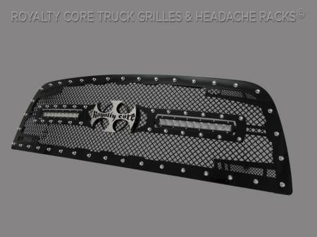 Royalty Core - Dodge Ram 2500/3500/4500 2010-2012 RC2X X-Treme Dual LED Grille - Image 2