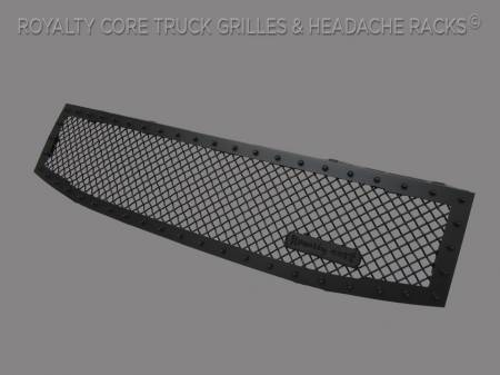 Royalty Core - Nissan Titan 2004-2015 RC1 Full Grille Replacement Satin Black - Image 2