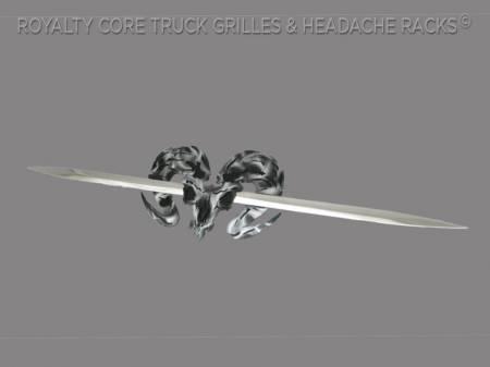 Emblems - Royalty Core - Speared Ram Skull