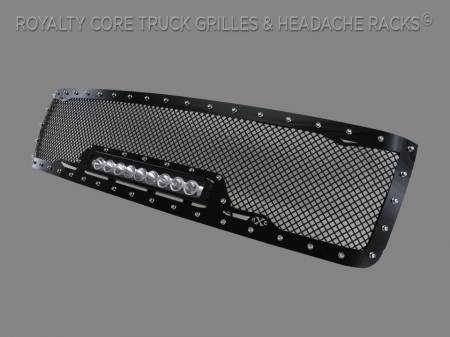 Royalty Core - Chevy 2500/3500 2007-2010 Full Grille Replacement RC1X Incredible LED Grille - Image 2