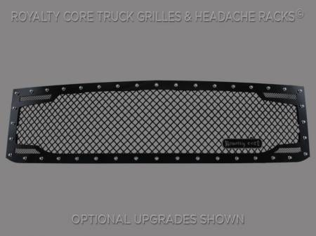 2500/3500 - 2015-2016 - Royalty Core - Chevy 2500/3500 2015-2017 RC2 Twin Mesh Grille