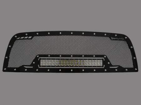 Grilles - RCRXB - Royalty Core - DODGE RAM 2500/3500/4500 2010-2012 RCRX LED Race Line Grille