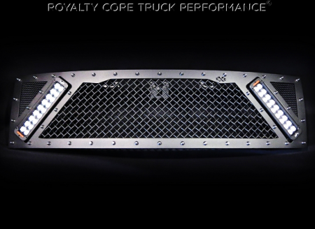 Raptor - 2009-2015 - Royalty Core - Ford Raptor 2009-2015 RCX Explosive Dual LED Grille