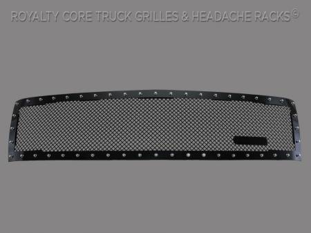 2500/3500 - 2007-2010 - Royalty Core - Chevy 2500/3500 2007-2010 Full Grille Replacement RC1 Classic Grille