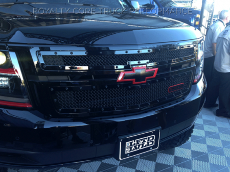 2018 Chevy Tahoe >> Custom Grilles Suburban, Avalanche, & Tahoe | Royalty Core