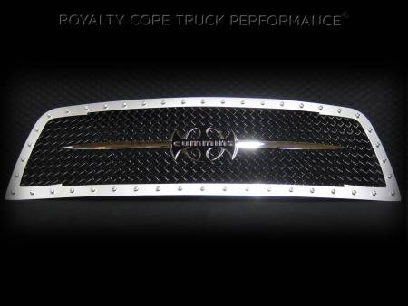 Emblems - Royalty Core - Cummins w/ Sword Assy