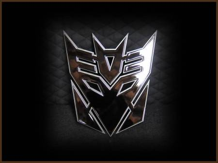Emblems - Royalty Core - Decepticon Black
