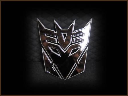 Emblems - Royalty Core - Decepticon Black