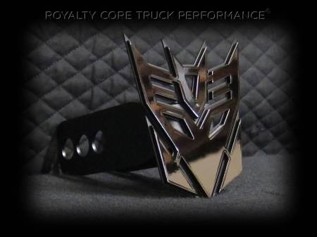 Emblems - Royalty Core - Decepticon Hitch Cover