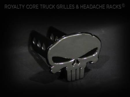 Emblems - Royalty Core - Punisher Hitch Cover