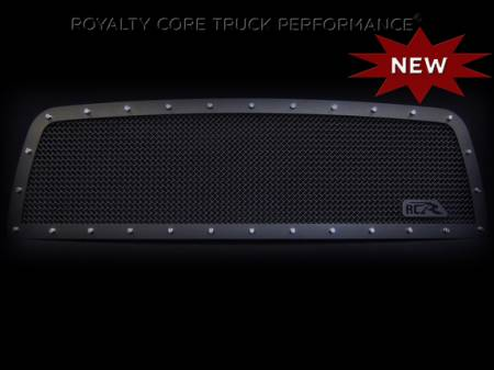 Royalty Core - Chevrolet 1500 1999-2002 RCR Full Grille Replacement Satin Black w/ 12.0 Mesh