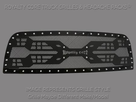 2500/3500/4500 - 1994-2002 - Royalty Core - Royalty Core Dodge Ram 2500/3500/4500 1994-2002 RC5 Quadrant Grille