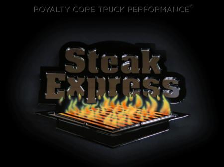 Gallery - CUSTOM DESIGNED LOGOS - Royalty Core - Steak Express Custom Logo