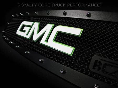 Gallery - CUSTOM DESIGNED LOGOS - Royalty Core - Custom GMC Emblem