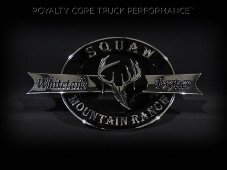 Gallery - CUSTOM DESIGNED LOGOS - Royalty Core - Whitetail Exotics Emblem