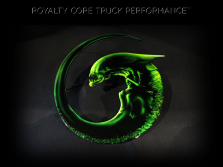 Gallery - CUSTOM DESIGNED LOGOS - Royalty Core - Alien Emblem