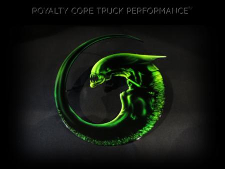 Gallery - CUSTOM DESIGNED LOGOS - Royalty Core - Alien Emblem