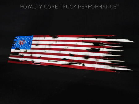 Gallery - CUSTOM DESIGNED LOGOS - Royalty Core - Wounded Warrior American Flag