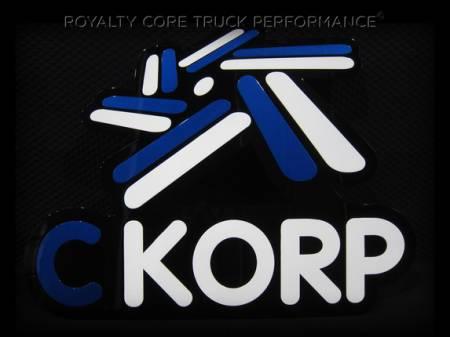 Gallery - CUSTOM DESIGNED LOGOS - Royalty Core - C CORP Company Emblem