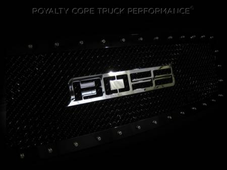 Gallery - CUSTOM DESIGNED LOGOS - Royalty Core - Boss Emblem