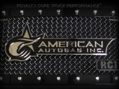 Gallery - CUSTOM DESIGNED LOGOS - Royalty Core - American AUTOGAS Company emblem