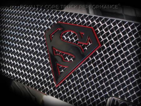 Gallery - CUSTOM DESIGNED LOGOS - Royalty Core - Superman Gloss Black And Red emblem