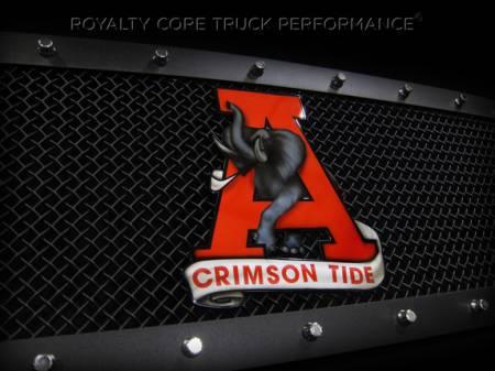 Gallery - CUSTOM DESIGNED LOGOS - Royalty Core - Alabama emblem