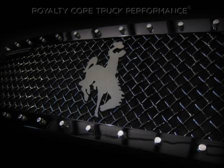 Gallery - CUSTOM DESIGNED LOGOS - Royalty Core - Bucking Brunco Emblem