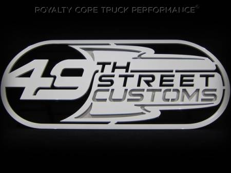 Gallery - CUSTOM DESIGNED LOGOS - Royalty Core - 49th Street Emblem