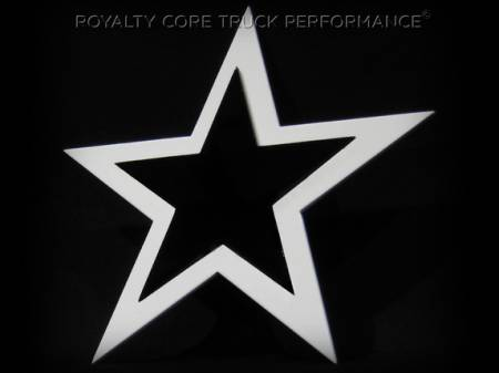 Gallery - CUSTOM DESIGNED LOGOS - Royalty Core - 2 Tone Star Emblem