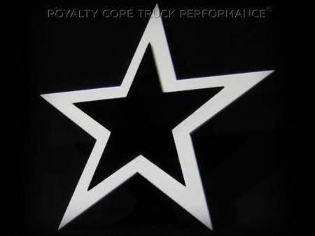 Gallery - CUSTOM DESIGNED LOGOS - Royalty Core - 2 Tone Star Emblem