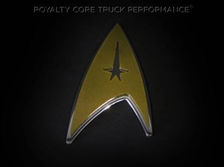 Gallery - CUSTOM DESIGNED LOGOS - Royalty Core - Star Trek Emblem